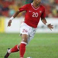 Photo taken at Stadion Utama Riau by Jho O. on 7/7/2012