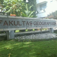 Photo taken at Fakultas Geografi by rierie_ c. on 3/23/2012