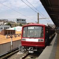 Photo taken at Uraga Station (KK64) by Nobuyuki S. on 4/17/2012