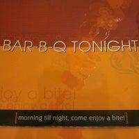 Photo taken at Bar-B-Q Tonight by Mateen I. on 4/23/2012