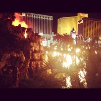 Photo taken at The Mirage Volcano by Brian F. on 7/16/2012