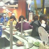 Photo taken at YO! Sushi by Gerald Sai on 2/15/2012