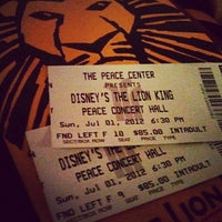 Photo taken at Peace Center For The Performing Arts by Megan D. on 7/1/2012