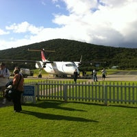 Photo taken at Lord Howe Island Airport (LDH) by 🐰Snuffles 🐰 S. on 4/14/2012