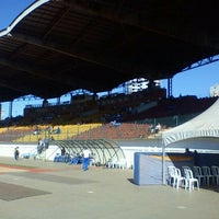 Photo taken at Estádio Willie Davids by Angelo M. on 7/20/2012