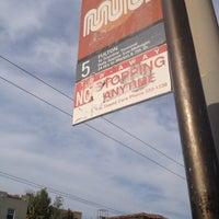 Photo taken at MUNI Bus Stop - Fulton & Clayton by 811417 .. on 4/25/2012