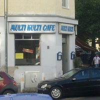 Photo taken at Multikulti Cafe by Holger B. on 5/20/2012