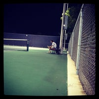 Photo taken at McFarlin Tennis Center by Dixon Y. on 9/9/2012