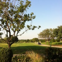 Photo taken at Brookhaven Country Club by Erik R. on 8/21/2012