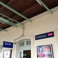 Photo taken at Gare SNCF de Cognac by Chris A. on 7/6/2012