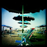 Photo taken at Spiaggia Stella Polare by Aroti M. on 8/23/2012