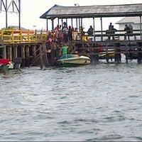 Photo taken at Pelabuhan speedboat kampung baru by Firly M. on 8/15/2012