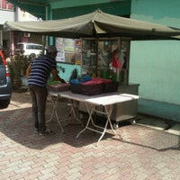 Photo taken at Bulat's Cafe by azim h. on 4/16/2012