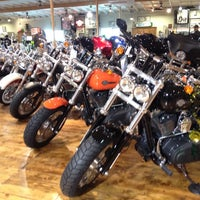 Photo taken at Dudley Perkins Co. Harley-Davidson by Esther D. on 3/17/2012