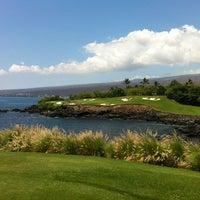 Photo taken at Mauna Kea Golf Course by Richard H. on 6/21/2012