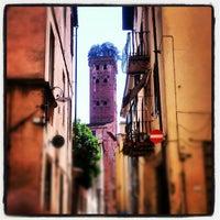 Photo taken at Torre Guinigi by Diego G. on 6/23/2012