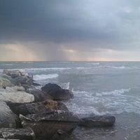 Photo taken at Lido d'Abruzzo spiaggia by Nunzia G. on 7/22/2012