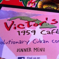 Photo taken at Victor's 1959 Cafe by Louis H. on 4/18/2012
