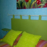 Photo taken at Hostal Colonia by Cristina G. on 6/30/2012