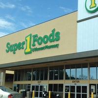 Photo taken at Super 1 Foods by Carla A. on 4/22/2012