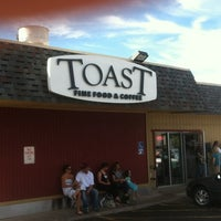 Photo taken at Toast by Tom O. on 9/2/2012
