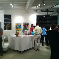 Photo taken at Gallery Flux by Rachel R. on 3/29/2012