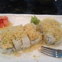 Photo taken at Sushi Hana Japanese Kitchen by Shannon on 8/2/2012