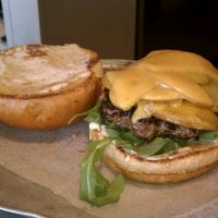 Photo taken at The Burger Guys by Alyssa M. on 4/28/2012