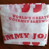 Photo taken at Jimmy John's by Heidi P. on 4/11/2012