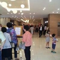 Photo taken at 루체피에스타 (대한예식장) by Jeong D. on 6/17/2012
