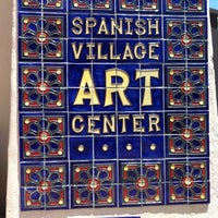 Photo taken at Spanish Village Art Center by Jessica on 5/14/2012