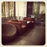 Photo taken at LUXX XL Hotel by Vivitawin K. on 5/19/2012