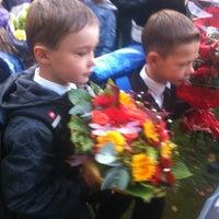 Photo taken at Гимназия № 209 by Kira on 9/1/2012