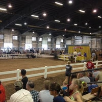Photo taken at Voinovich Livestock & Trade Center by Hallie F. on 8/4/2012