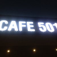 Photo taken at Cafe 501 by Azeem A. on 4/2/2012