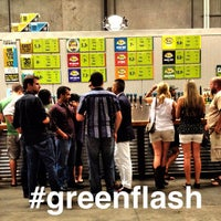 Photo taken at Green Flash Brewing Company by Aj B. on 8/5/2012