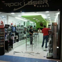 Photo taken at Rock Laser Games by Paulo A. on 3/22/2012