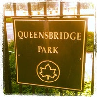 Photo taken at Queensbridge Park by Bronx E. on 8/18/2012