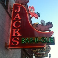 Photo taken at Jack's Bar-B-Que by Mathew B. on 4/19/2012