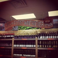 Photo taken at Trader Joe's Wine Shop by Cindy T. on 2/8/2012