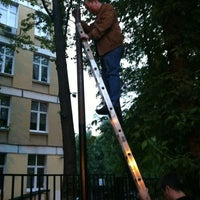 Photo taken at Парковка во дворе by Andrey B. on 5/29/2012