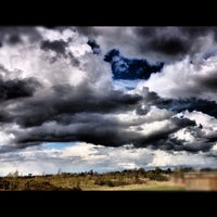 Photo taken at Greenham Common by Mike R. on 4/20/2012