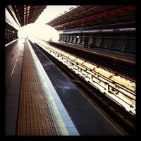 Photo taken at Metro Rojas Magallanes by Nelita P. on 7/28/2012