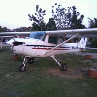 Photo taken at Lingayen Airport by Paolo C. on 4/20/2012