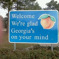 Photo taken at Georgia Visitors Center by Lisa P. on 3/3/2012