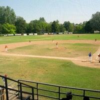 Photo taken at Stadio Baseball F.lli Toselli by Robby C. on 7/15/2012