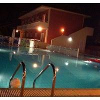 Photo taken at Hotel Pantheon Tsilivi Zakynthos by Laurent V. on 7/29/2012