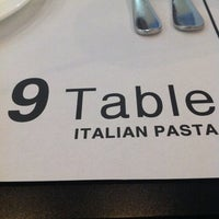 Photo taken at 9 Table by Nayoung D. on 2/16/2012