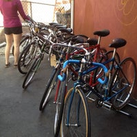 Photo taken at Bike Boom by Andrew C. on 4/14/2012