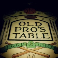 Old Pro's Table